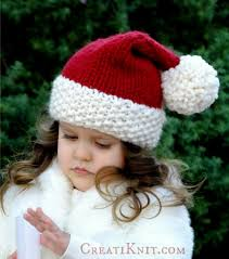 creatiknit the santa hat free knitting pattern