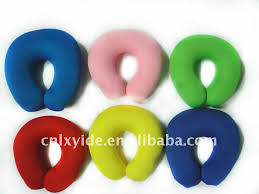 Fashion Top Quality Oem Best Price Designed Colorful Zhejiang Car Bean Bag Neck Brace Pillow