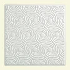 Vinyl Ceiling Tiles 2x2 by Vinyl Drop Ceiling Tiles Ceiling Tiles The Home Depot