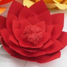 Online Shop 4PCS Set Cardstock Customerized Giant Paper Flowers For Wedding Backdrops Windows Display Kids Room Decorations Handmade