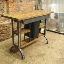 Industrial Kitchen Island Hand Made Modern Console Table By On