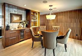 Dining Table With Buffet Cabinet Design Modern In