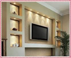 Tv Wall Unit Ideas Gypsum Decorating 2016 Drywall Designs