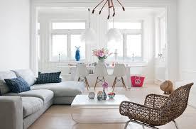 salon canapé gris design interieur mobilier de salon blanc canapé gris clair