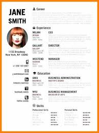 Resume Example Creative Sample Of Template By Resumes Graphic Design