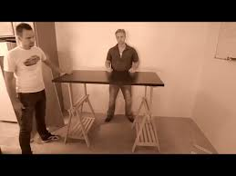 Vika Amon Desk Uk by Today We Are Building A Standing Desk Youtube