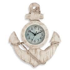 antique anchor wall clock bed bath beyond