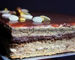 LLC Bakeries Earl Grey Opera Cake Happy 66th Birthday to Papa