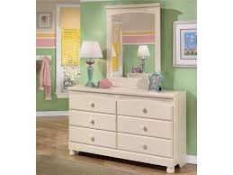 6 Drawer Dresser With Mirror by Signature Design By Ashley Cottage Retreat 6 Drawer Dresser And
