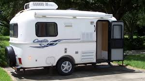 2001 17ft Spirit Deluxe Casita Travel Trailer Remodel Twin Beds Seating No Up And Down