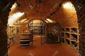 100 Brick Ceiling Traditional Wine Cellar With Walls And Stock Photo