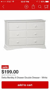Monterey 6 Drawer Dresser Target by Bedroom Awesome Ikea Chest Of Drawers Wood Ikea Dresser Malm