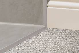 Schluter Tile Edging Colors by Schluter Reno Tk Sloped Transitions For Floors Profiles