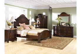 north shore king panel bed ashley furniture homestore