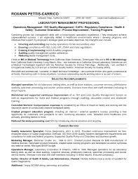 Sample Resume For Lab Manager Position Elegant Laboratory Rh Cheapjordanretros Us Quality Control Example
