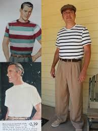 Vintage Mens T Shirt How To Dress Retro Fashion
