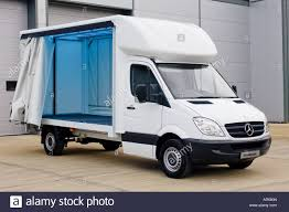 Mercedes Benz Sprinter Luton Curtain Sided Truck Left Open To Show ... Mercedesbenz Sprinter 516 Dump Trucks For Sale Tipper Truck Ford Transit Vs Mercedesbenz Sprinter Allegheny Truck Sales Approved Used Van 311cdi Vans Rv Business 3d Model Mercedes Sprinter 3d Mercedes 2018 High Roof Cgtrader Recovery 311 2005 In Blackhall Colliery County Mwb Highroof Cargo Van L2h2 2017 316 22 Cdi 432 Hd Chassis Horse Lamar The Cargo Mercedesbenzvansca Unveils 2019 Commercial Truckscom