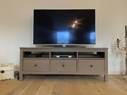 ikea hemnes tv schrank tv bank graubraun