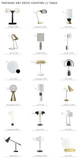 Make Cypress Knee Lamps by Achieving The U201cparisian Art Deco U201d Style Lighting Emily