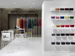 Small Boutique Interior Design Ideas Beautiful With Smart Display System Wood Cladding