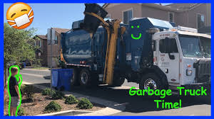 100 Trash Truck Videos For Kids Youtube Follow The Garbage Adventure YouTube
