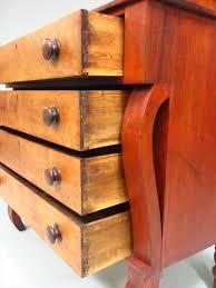 Birdseye Maple Serpentine Dresser by Igavel Auctions Empire Birds Eye Maple U0026 Basswood Chest Of