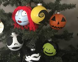 Nightmare Before Christmas Decorations by Nightmare Before Christmas Ornaments Etsy