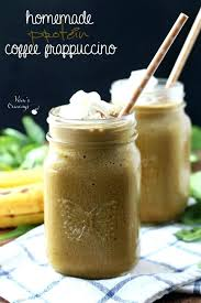 Coffee Frappuccino Light Calories Homemade Protein A Lightly Sweetened Irresistibly Creamy Easy Frappe Healthy Starbucks Nutrition Tall