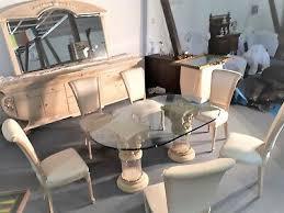 wohnzimmer esszimmer komplett prunkmöbel fossilstein