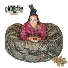 100 Bean Bag Chairs Cabelas Durable Officially Licensed Mossy Oak Fabric 3 PositionsChair