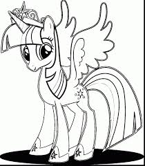 My Little Pony Coloring Pages Twilight Sparkle Alicorn New Unique Princess