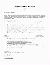 Administrative Assistant Resume 2016 Sample For