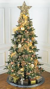 Awesome Ideas For Gold Christmas Tree Decoration Happy Walmart Decorations
