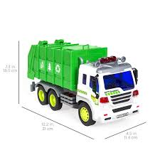 Amazon.com: Best Choice Products 1/16 Scale Friction Powered Toy ... Bruder Mack Granite Garbage Truck Ruby Red Green 02812 The And Trash Bins With Recycle Sign Stock Vector Lanl Debuts Hybrid Garbage Truck Youtube All Lime Reallifeshinies Man Tgs Rear Loading Dickie Toys 12in Air Pump And Lego Classic Legocom Us Modern Royalty Free Image Amazoncom Dickie Toys 12 Action Vehicle Clean Energy Waste Management Lifting A Dumpster Detail Feedback Questions About High Simulation 132 Alloy Green