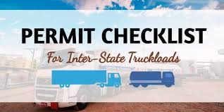 100 All State Trucking Permit Checklist For Inter Truckloads Lane