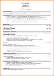 12 Sample Of Good Curriculum Vitae