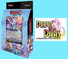 cardfight vanguard g debut of the divas trial deck 14 ebay