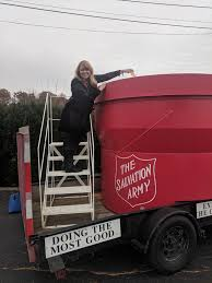 Angela Krile's Fundraising Page For The Salvation Army