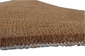 paillasson a la coupe tapis brosse coco naturel tissé 40x80 cm tapis brosse d