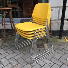 set of vintage samsonite chairs the consortium vintage furniture