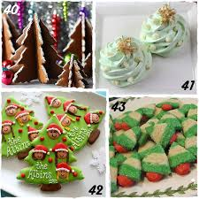 Christmas Tree Decorated Cookies