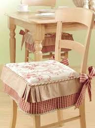 Dining Room Chair Pillows Cushions Pads With Ruffles