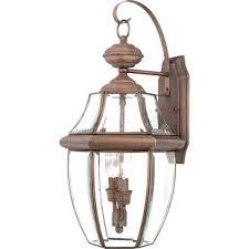 copper outdoor wall lighting you ll wayfair
