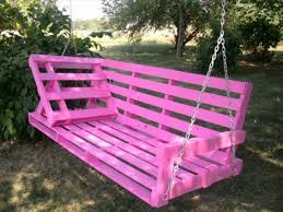 Diy Pallet Swing Plans Chair Bed Bench