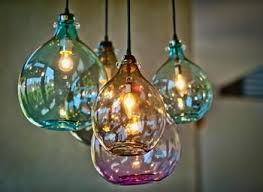 blown glass pendant lighting for kitchen sustainablepals org