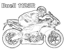 Image Of Free Dirt Bike Coloring Pages Printable