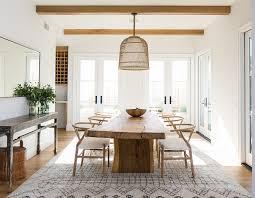 Modern Farmhouse Dining Room Decor Table