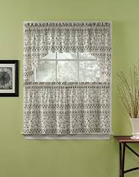 Kitchen Curtain Ideas Diy by Cool Half Kitchen Cafe Curtain Design Inspirations And Grey