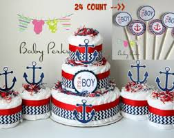 Baby Shower Decorations Nautical Baby Shower Centerpiece