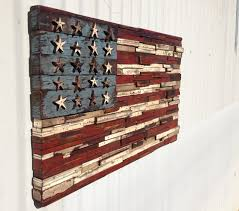 Super Cool Ideas Rustic American Flag Wall Art Manificent Decoration Wooden